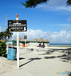 Taking a cruise with a port in Nassau? Here are 3 things to do in Nassau, Bahamas - like the free public beach, Junkanoo Beach!