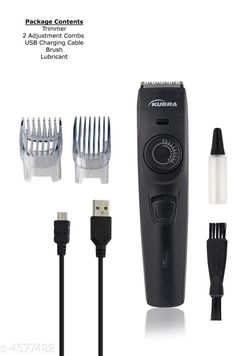 Trimmers Elite Trendy Men's Trimmer Product Type : Trimmer Material: Trimmer Body - Plastic Blade - Stainless Steel Trimmer Type: Hair and Beard Trimmer Use for: Men  Battery Included: Yes Type:Cordless Description : It Has 1 Piece Of Piece Of  Trimmer Set Country of Origin: India Sizes Available: Free Size   Catalog Rating: ★4.2 (1229)  Catalog Name: Elite Trendy Men's Trimmers Vol 6 CatalogID_662985 C50-SC1373 Code: 013-4577482-