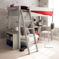 19 High Sleepers Loft Beds Bunk Beds With Furniture Underneath Ideas High Sleeper High Sleeper Bed High Bed Frame