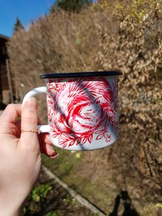 Lovers Gift, Gift For Lover, Unique Gifts, Best Gifts, Handmade Gifts, Coffee With Friends, Hand Painted Mugs, Magic Forest, Camping Coffee