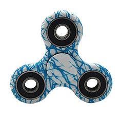 Etopfashion Hand Spinner Stress Relief Toy Enfants Tri Fidget Hand Spinner Focus Plastique Jouet Mini Poche Jouet Triangle Gyro Cadeau pour…