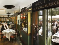 Very good restaurant: Brasserie de l'Est inside the beautiful Gare Des brotteuax.