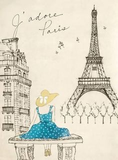 Sketchbook Paris II Posters by Lottie Fontaine at AllPosters.com