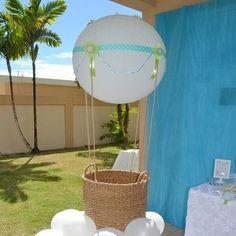 Hot Air Balloon Photo Props | Party Ideas