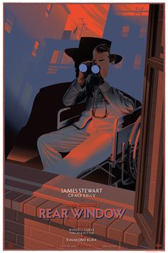 Rear Window by Laurent Durieux24″ x 36″ Screenprint, Edition of 375
