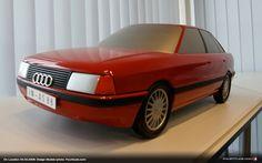 OG  1986 Audi 80 - B3   Scale clay model