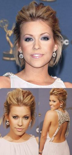 Formal Hairstyles For Short Hair How To : Easy formal hairstyles for short hair formal hairstyles and