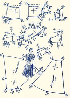 Lutterloh 1938 Book Of Cards -  Models Diagram Card 43