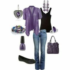 Love the purple.