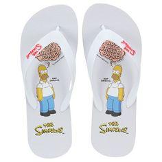 Centauro.com.br - Chinelo The Simpsons Brain Homer - Masculino