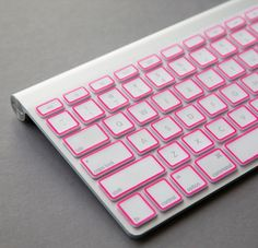 Pink Macbook Apple Keyboard Cover