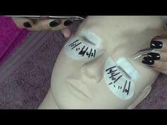 EYELASH EXTENSIONS - HAND ANGLES FOR BETTER LASHING - YouTube