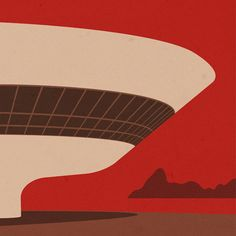 /// Dezeen Competition: 5 architectural illustrations by André Chiote to be won. They're giving readers the chance to win one of five graphic prints that depict iconic buildings by architects including Oscar Niemeyer, Zaha Hadid + Álvaro Siza.