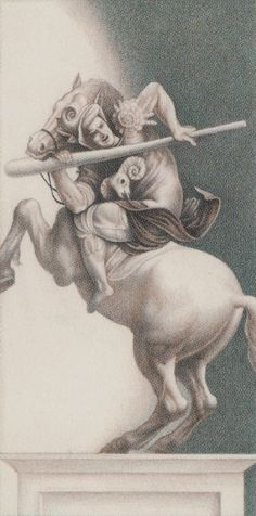 Knight of Wands - Leonardo Da Vinci Tatot by A. Atanassov, Iassen Ghiuselev