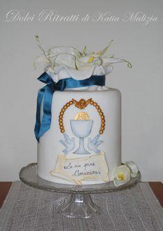 First+Communion+Cake++-+Cake+by+Dolci+Ritratti+di+Katia+Malizia