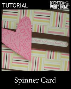 Spinner card #tutorial