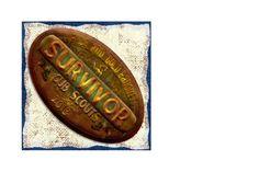 The Sew*er, The Caker, The CopyCat Maker: Survivor Blue and Gold Cubes