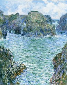 Claude Monet - Port-Goulphar, Belle-Île