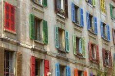 Multi-colored Shutters