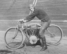 Circa 1914 Excelsior Boardtrack Racer