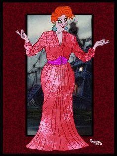 Madame Medusa (Fashion by Rob32 @deviantART) #TheRescuers