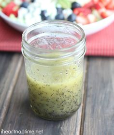 Lemon Poppyseed Vinaigrette