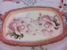 Serving Trays, Decoupage, Plates, Tableware, Home Decor, Licence Plates, Homemade Home Decor, Plate, Dinnerware
