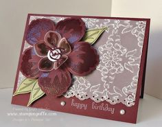 Stampin' Up! Build a Blossom Stamp Set with Blossom Petals Punch
