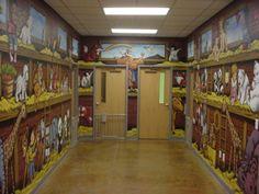 david eden Murals | Invitation of Love In Jesus' Steps... Mural Design Photo #54487