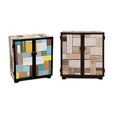 Patchwork chests