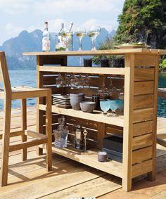 Bar de jardin #MaisonsDuMonde