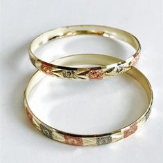 775e83ceb Indian Gold Plated Bangles Set of 2 – Raf Rossi Gold Plated Brazilian Gold,  Gold