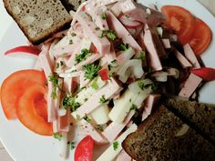 Fleischkääs Salat...hmm lecker