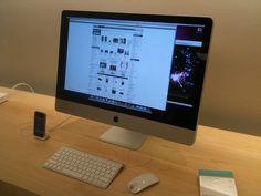 an iMac 27inch