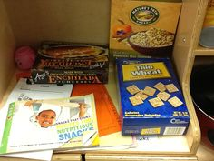 Food boxes and pictorial cookbooks- Sarah Ford DVISD