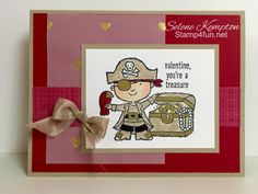 Hey, Valentine, Stampin Up! by StampingSelene - Cards and Paper Crafts at Splitcoaststampers