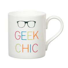 Geek Chic Mug by Gary Birks