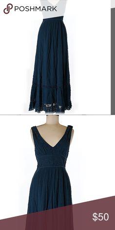 Free people new w tags maxi dress teal Brand new dress simply gorgeous Free People Dresses Maxi