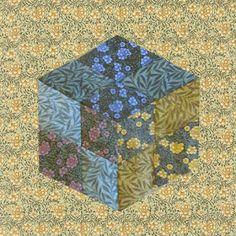 Kate Faulkner's Carnation. Block by Bettina Havig. MATERIAL CULTURE