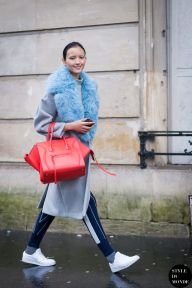 Haute Couture SS 2015 Street Style: Luping Wang