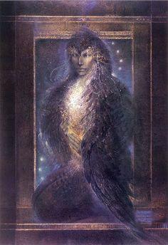 Lilith by Susan Seddon Boulet Emu, Spirited Art, Animal Totems, Hawkgirl, Animals Images, Illustrations, Native American Indians, Indian Art, Spirit Animal