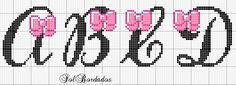 Ângela Bordados: Lacinhos para princesas