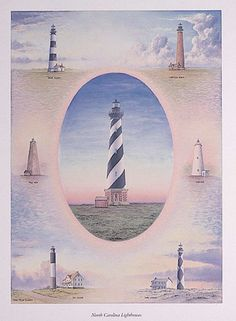 Moore Art Inc. - Lighthouse