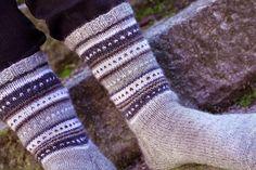 Saumaton: Miesten villasukat