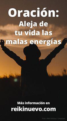 ¡Aleja de tu vida las malas energías! Más información: https://www.reikinuevo.com/aleja-vida-malas-energias/