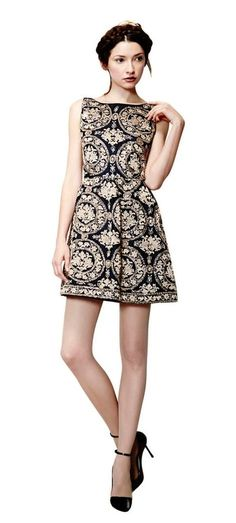 Lillyanne Puff Mini Dress from Alice + Olivia
