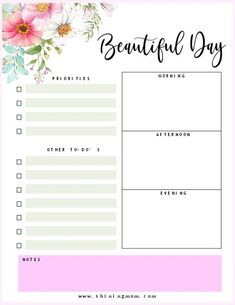 Excellent Photo daily planner mom Style Paper planners are effective only if you use them properly and regularly. Here are a few ways to fin Mom Planner, Daily Planner Pages, College Planner, Planner Layout, Weekly Planner, College Tips, Daily Planners, Personal Planners, A5 Planner Printables Free