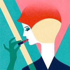 Delicate Digital Portraits & Paintings by Samy Halim – Inspiration Grid | Design Inspiration