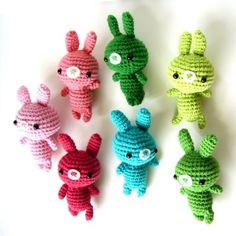 Amigurumi tiny rabbits