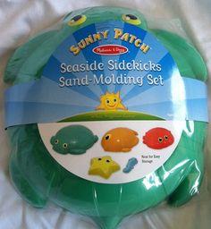 Melissa & Doug Seaside Sidekicks Sand-Molding Set